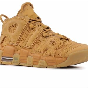 """Nike Air UpTempo SE GS Color: Flaxwheat"""""""